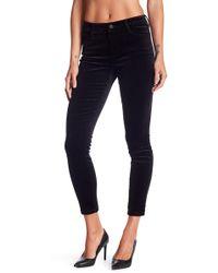Joe's Jeans - Velvet Ankle Skinny Jeans - Lyst