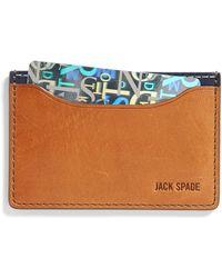 Jack Spade - Credit Card Holder - Lyst