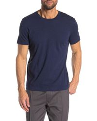 Theory Gaskell Short Sleeve Crew Neck Tee