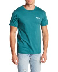 Obey | Afton Premium Tee | Lyst