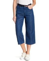 French Connection - Wisteria Blue Pants - Lyst