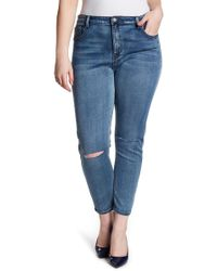 Glamorous - Skinny Jeans (plus Size) - Lyst