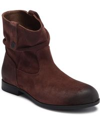 Birkenstock - Sarnia Waxed Suede Boot - Discontinued - Lyst