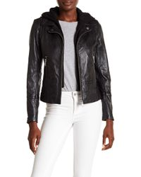 Doma Leather - Basic Straight Jacket With Detachable Hood - Lyst