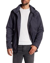 Izod - Polar Fleece Lined Detachable Hood Jacket - Lyst