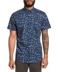 Calibrate - Print Sport Shirt - Lyst