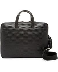 Z Zegna - Embossed Leather Briefcase - Lyst