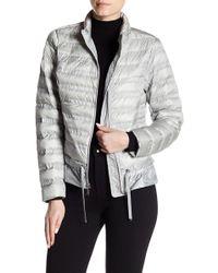 BCBGeneration | Ruffle Hem Packable Jacket | Lyst