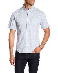 Loft 604 - Printed Regular Fit Woven Shirt - Lyst