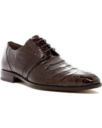 Mezlan - Genuine Crocodile Derby - Lyst