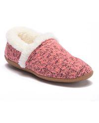 092df2b0f39 TOMS - House Slipper (faded Rose Woolen) Women s Slippers - Lyst