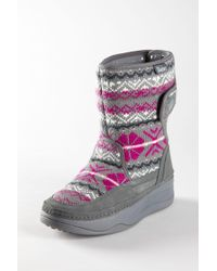 Skechers - Sweater Tone-up Boot - Lyst