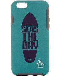 Original Penguin - Surfboard Iphone 6s Slide-in Case - Lyst
