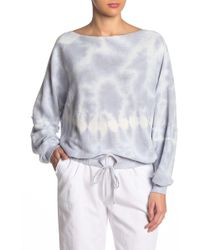 Young Fabulous & Broke - Knox Terry Tie Hem Sweater - Lyst