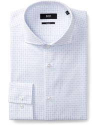 BOSS - Jason Slim Fit Dress Shirt - Lyst