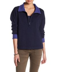 Tommy Bahama - Reversible Flip Side Funnel Neck Zip Pullover - Lyst