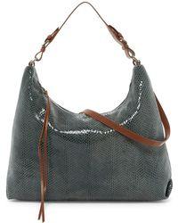 Sorial | Lexi Snake-embossed Shoulder Bag Hobo | Lyst