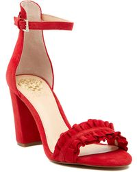 Vince Camuto - Cralista Ankle Strap Sandal - Lyst