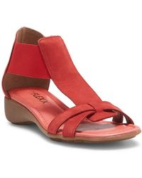 The Flexx - Band Together Wedge Sandal - Lyst
