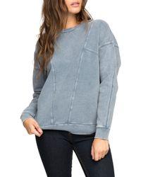 RVCA - Take Care Sweatshirt - Lyst