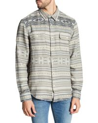 Lucky Brand - Clean Two Pocket Jacquard Slim Fit Shirt - Lyst