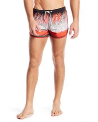 ce747d07e7 Parke & Ronen - Sprinter Patterned Swim Shorts - Lyst