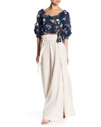 Do+Be Collection - Paper Bag Maxi Skirt - Lyst