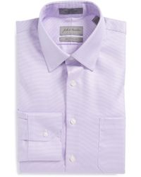 John W. Nordstrom - John W. Nordstrom Traditional Fit Non-iron Houndstooth Dress Shirt - Lyst