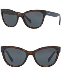Prada - Women's 56mm Heritage Acetate Cat Eye Sunglasses - Lyst