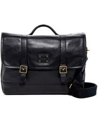 Cole Haan - Leather Briefcase/messenger Bag - Lyst