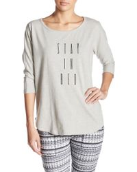 Threads For Thought - Boatneck Graphic Print Sweatshirt - Lyst