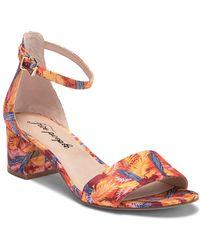 Free People - Marigold Block Heel Sandal (women) - Lyst