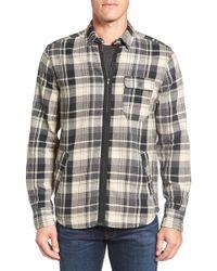Jeremiah - Fargo Zip Flannel Shirt Jacket - Lyst