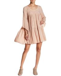 NYTT - Tiered Ruffle Shift Dress - Lyst