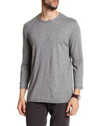 Vince - Crew Neck Long Sleeve Shirt - Lyst
