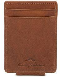 Tommy Bahama - Key Largo Leather Card Wallet - Lyst