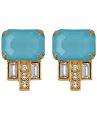 Loren Hope - Alex Indicolite Stud Earrings - Lyst
