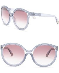 Chloé - 57mm Modified Cat Eye Sunglasses - Lyst