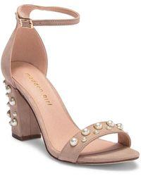 Madden Girl - Bitsyy Embellished Ankle Strap Sandal - Lyst