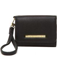 Steve Madden French Wallet - Black