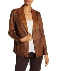 Insight - Burnished Faux Suede Jacket - Lyst