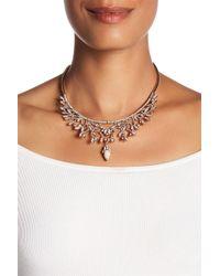 Jenny Packham - Vine Frontal Collar Necklace - Lyst