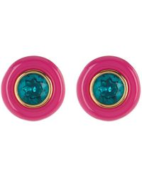 Trina Turk - Oversized Resin Stud Earrings - Lyst