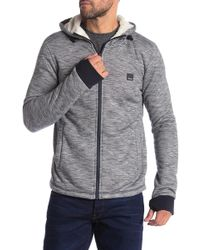 6c94c17cb1d2 Bench - Bonded Marled Zip-up Hoodie - Lyst