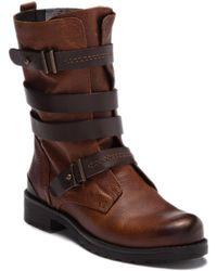 Pajar - Latias Leather Button Stud Boot - Lyst