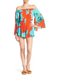 On The Road - Melli Patterned Romper - Lyst