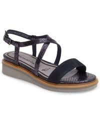 Tamaris - 'eda' Platform Wedge Sandal (women) - Lyst