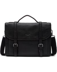 Ted Baker - Raised Leather Satchel - Lyst