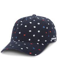Converse - Dotted Baseball Cap - Lyst