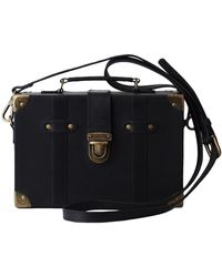 Most Wanted Usa - Lily's Trunk Box Leather Crossbody Bag - Lyst